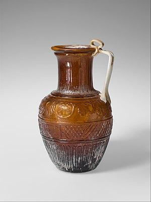 Ennion - Image: Glass jug MET DP121998