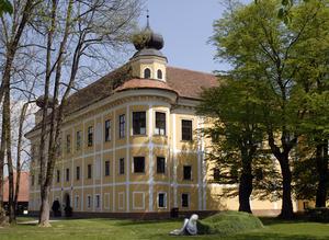 Gleinstätten - Gleinstätten castle, one of the finest surviving examples of Italian-influenced castle architecture in Austria