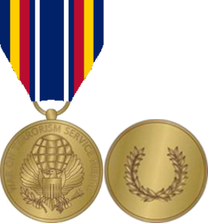 Global War on Terrorism Service Medal - The Global War on Terrorism Service Medal