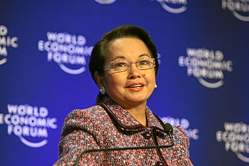 Gloria Macapagal Arroyo WEF 2009