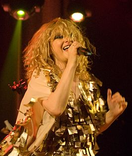 Goldfrapp live in 2010.