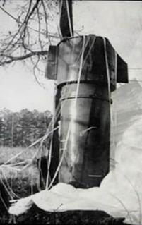 1961 Goldsboro B-52 crash Crash of a United States Air Force bomber carrying nuclear warheads in North Carolina