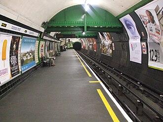 Goodge Street tube station - Image: Goodge Street stn northbound