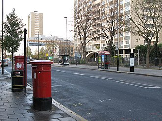 Goswell Road - Image: Goswell Road, EC1 geograph.org.uk 1069809