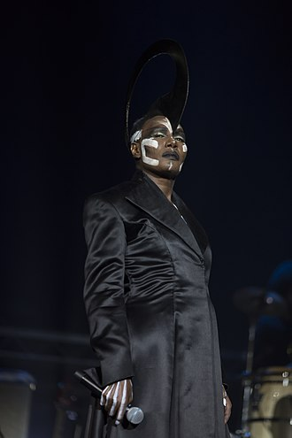 Grace Jones - Jones in performance, 2015