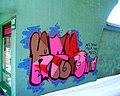 """Graffiti at Šiauliai, """"We really like our city"""". April, 2013 - panoramio.jpg"""