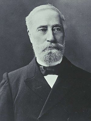 Graham Berry - Berry at the 1898 Australasian Federal Convention.