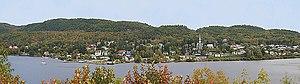 Grandes-Piles, Quebec - Image: Grandespiles 5rg