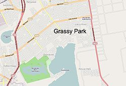 Street map of Grassy Park