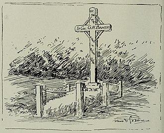 George Harold Baker - Image: Grave of George Harold Baker