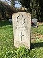 Gravestone of Anthony John Wells at Great Missenden Baptist Cemetery, April 2020.jpg