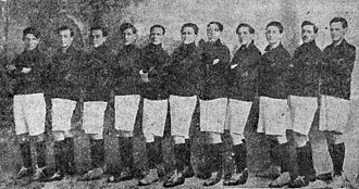 Grêmio Esportivo Brasil - The squad that won the Pelotas championship treble in 1919
