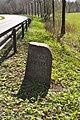 Grenzstein westlich B432 (Kayhude).AD GUT BORSTEL.ajb.jpg