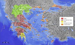 karte antikes griechenland Antikes Griechenland – Wikipedia