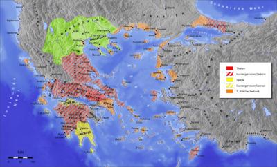 Antica grecia wikipedia for Cartina della grecia antica da stampare