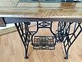 """Gritzner Sewing Machine """"R"""", metal pedal mechanism.jpg"""
