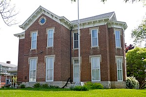 National Register of Historic Places listings in Henry County, Indiana - Image: Grose Hs New Castle IN