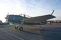Grumman TBM-3E Avenger BuNo 91436 NL436GM LSideFront Dawn SNF 04April2014 (14583034541).jpg