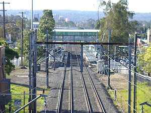 Guildford, New South Wales - Image: Guildford Railway Station 1