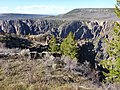 Gunnison Point Overlook at Black Canyon of the Gunnison National Park dyeclan.com - panoramio.jpg