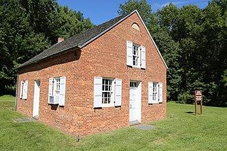 Gunpowder Meetinghouse - Image: Gunpowder Meetinghouse Left Side