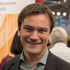 Gustaf Hoffstedt, Bogmessen 2013 (crop).   jpg