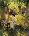 Guy Rose, 1910 - Warm afternoon.jpg