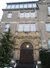 Gymnasium Dionysianum Rheine, Portal.jpg