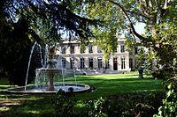 Hôtel de Roquelaure, façade sur jardin.JPG