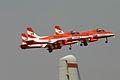 HAL HJT-16 Kiran Indian Air Force ( Surya Kiran Aerobatic Team ) (8413503853).jpg