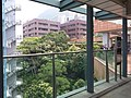 HKU 香港大學 syp MTR tower view 薄扶林道 Pok fu lam Road campus 校園 MTR Station Lift Tower April 2019 SSG 03.jpg