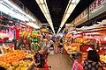 HK 上水 Sheung Shui 石湖墟市政大廈 Shek Wu Hui Municipal Services Building 上水街市 food Market interior June 2018 IX2 04.jpg