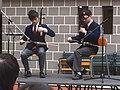 HK 英皇書院 King's College Open Day - Erhu muscians Ensemble stage March-2012.jpg