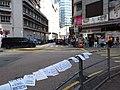 HK 觀塘 Kwun Tong 鴻圖道 Hung To Road Nov 2018 IX2 16 fence n white paper ads stickers.jpg