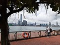 HK SW 上環 Sheung Wan 中西區海濱長廊 Central and Western District Waterfront Promenade view 維多利亞港 Victoria Harbour n West Kowloon May 2020 SS2 02.jpg