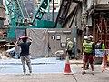 HK SW 上環 Sheung Wan 熹利街 Hillier Street construction site October 2020 SS2 04.jpg
