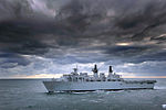 HMS Albion During Exercise Cold Response MOD 45151287.jpg