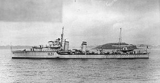 HMS Griffin (H31) - HMS Griffin (H31) in 1936