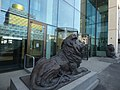 HSBC UK bronze lion statues in Centenary Square (47643965871).jpg