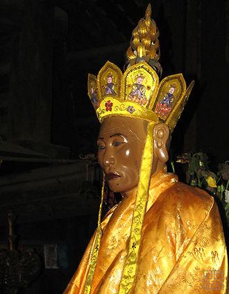 Từ Đạo Hạnh - Image of Từ Đạo Hạnh in the Thầy Temple near Hanoi