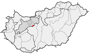 Velence Hills - Image: HU microregion 5.2.34. Velencei hegység