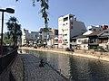 Hakatagawa River near Mizugurumahashi Bridge.jpg