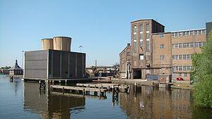 Zwanenburg - Image: Halfweg suikerfabriek
