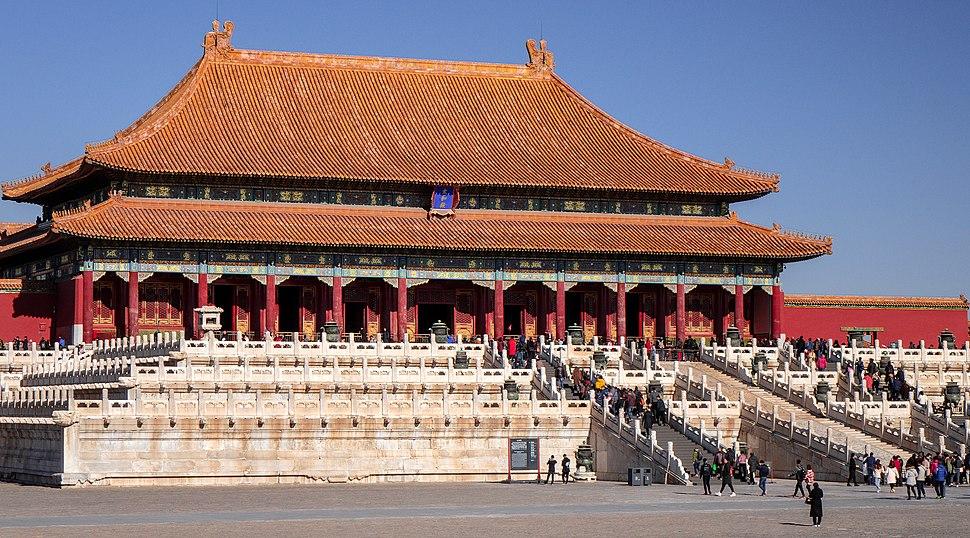 Hall of Supreme Harmony 2018. Forbidden City