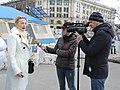 Halyna Kuts interviewed by R1 TV Channel (03.2020).jpg