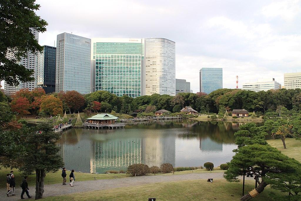 Hama-rikyū Garden 20181124-6