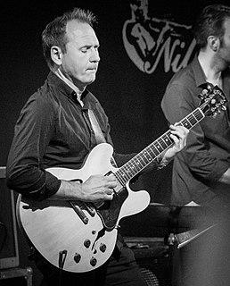 Hans Mathisen jazz guitarist