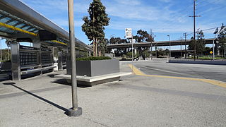 Harbor Gateway Transit Center Public transit hub in Los Angeles, California