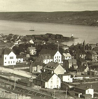 Harbour Grace Town in Newfoundland and Labrador, Canada