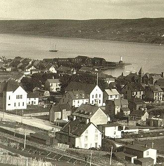Harbour Grace - Harbour Grace water front c. 1911